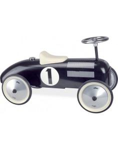 Voiture porteur métal Vintage noir