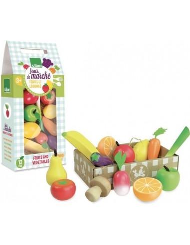 Set de fruits et légumes - Vilac