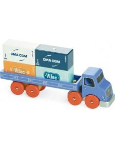 Camion porte container Vilacity