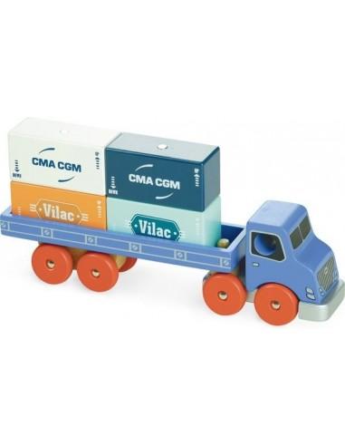 Camion porte container Vilacity - Vilac