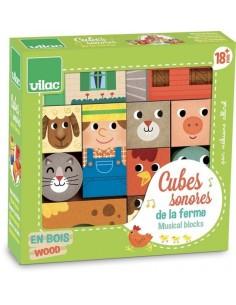 Cubes sonores de la ferme -...