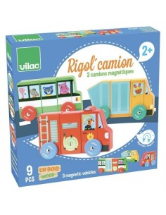 Magnets Rigol'camion - Vilac