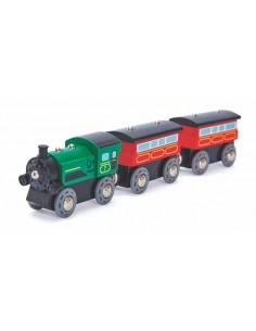 Train à vapeur - Hape