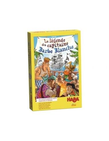 La légende du capitaine Barbe Blanche...