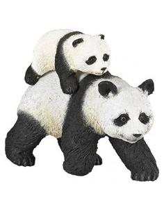 Figurine panda et son bébé...