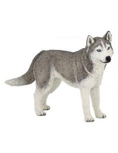 Figurine husky de Sibérie