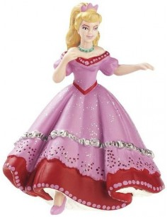 Figurines princesse rose au...