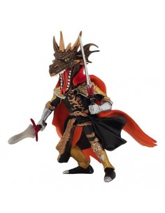 Figurine homme dragon de...