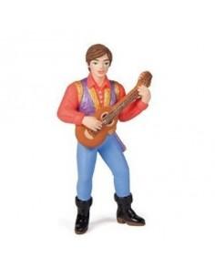 Figurine prince troubadour...
