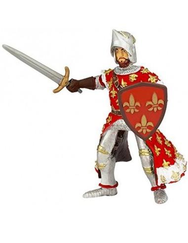 Figurine prince Philippe rouge - Papo