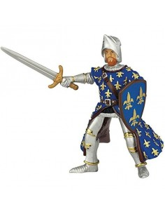 Figurine prince Philippe bleu