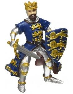 Figurine roi Richard bleu -...