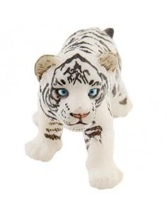 Figurine bébé tigre blanc -...