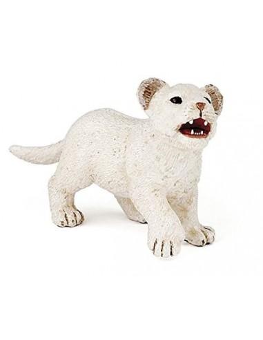 Figurine lionceau blanc - Papo