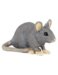 Figurine souris grise - Papo