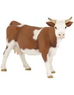 Figurine vache simmental -...