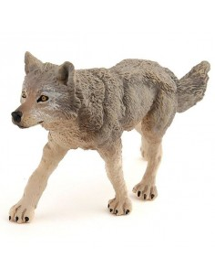 Figurine louve grise - Papo