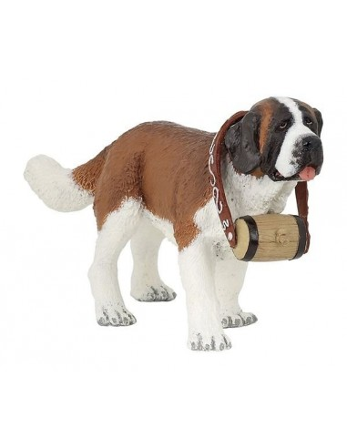 Figurine chien Saint-Bernard - Papo