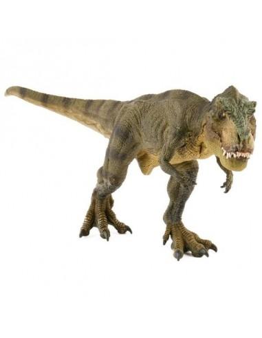 Figurine dinosaure T-rex courant vert...