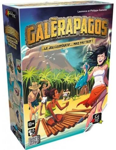 Galerapagos - jeu Gigamic