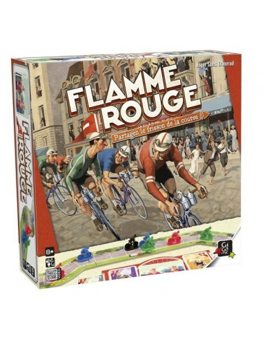 Flamme rouge - jeu Gigamic