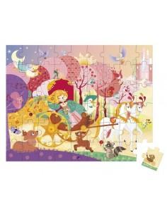 Puzzle princesse et carosse 54 pièces