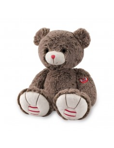 Peluche ours cacao 31 cm -...