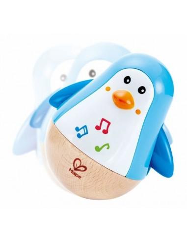Pingouin culbuto musical - Hape