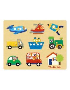 Puzzle des transports Les...