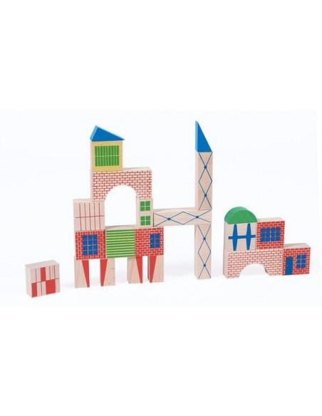 Jeu de construction 40 pièces Dans la ville - Moulin Roty
