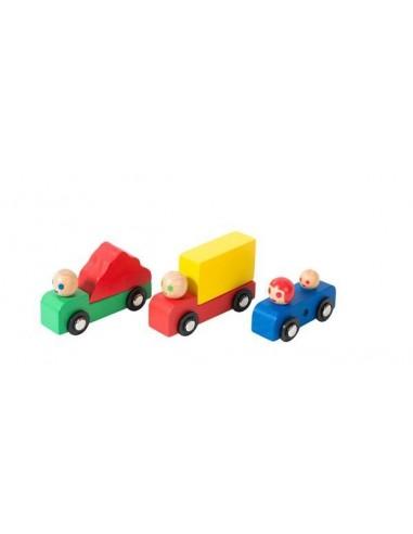 Voiture et camions Dans la ville -...