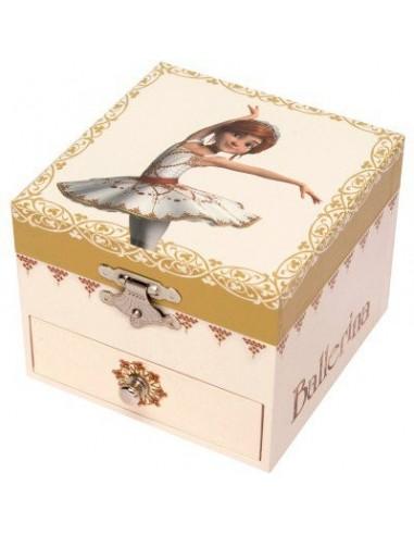 Boîte à bijoux musicale cube...