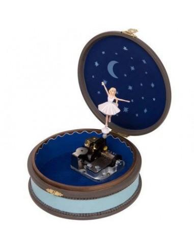 Boîte à bijoux ronde Ballerina -...