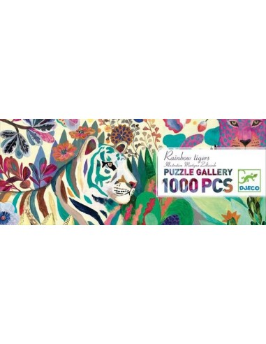 Puzzle gallery rainbow tigers 1000...