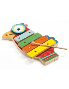 Cymbale et xylophone...