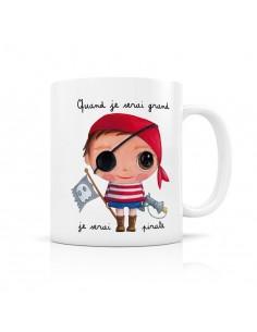 Mug pirate - quand je serai...