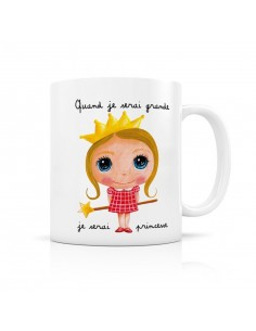 Mug princesse - quand je...