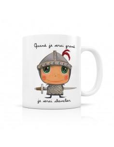 Mug chevalier - quand je...