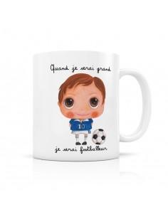 Mug footballeur - quand je...
