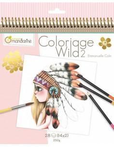 Carnet de coloriage Wild 2...