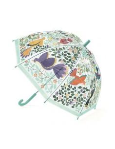 Parapluie fleurs et oiseaux...