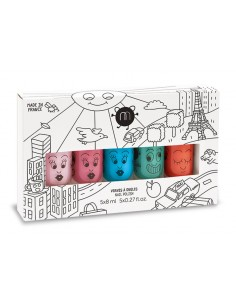 Coffret 5 vernis CITY