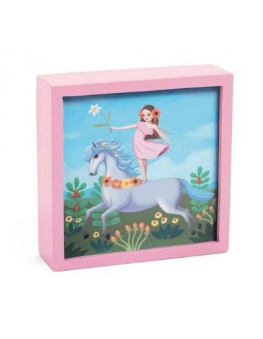 Veilleuse magique licorne féerique -...