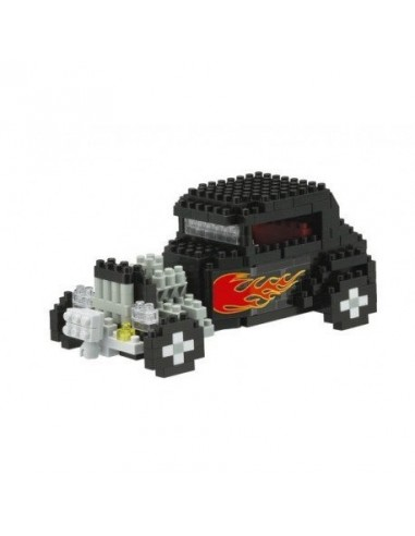 Nanoblock voiture Hot Rod - mini jeu...