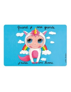 Set de table licorne -...