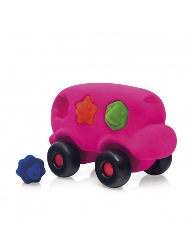 Bus à formes rose - Rubbabu