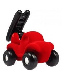 Camion de pompier rouge -...