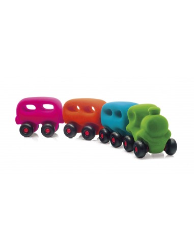 Train avec wagons magnétiques - Rubbabu