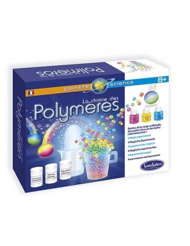 La chimie des polymères - Sentosphère