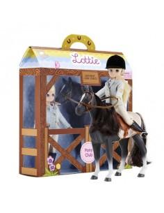 Cheval et poupée Lottie...